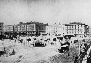 Plaza de España. Antigua Plaza Constitución