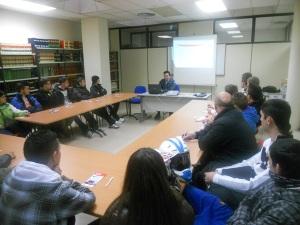 Charla del Responsable de Mantenimiento de TUZSA, Rafael Cañete