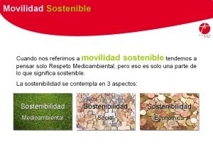 """Diapositiva ponencia """"Movilidad Sostenible"""""""