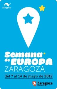 Cartel Semana de Europa Zaragoza 2012