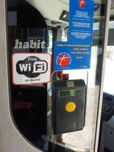 Identificación interior bus con WIFI