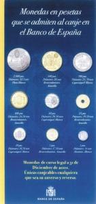 Monedas aceptadas